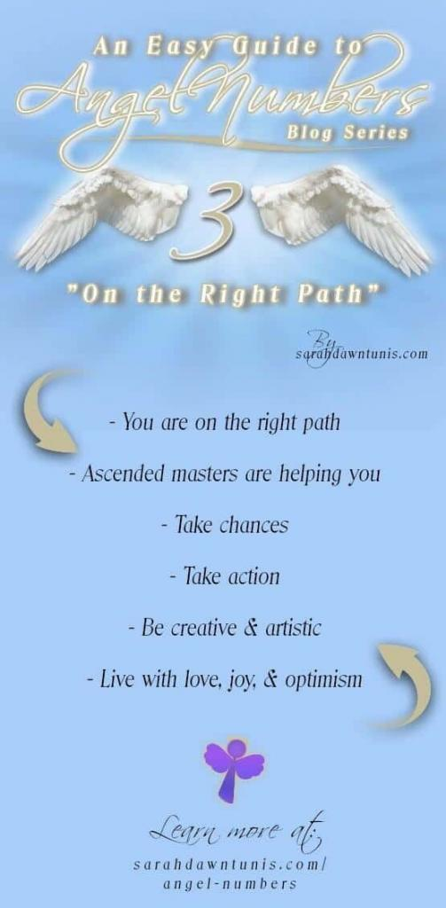On The Right Path - ANGEL NUMBER 3,33,333,3333 - Easy Guide