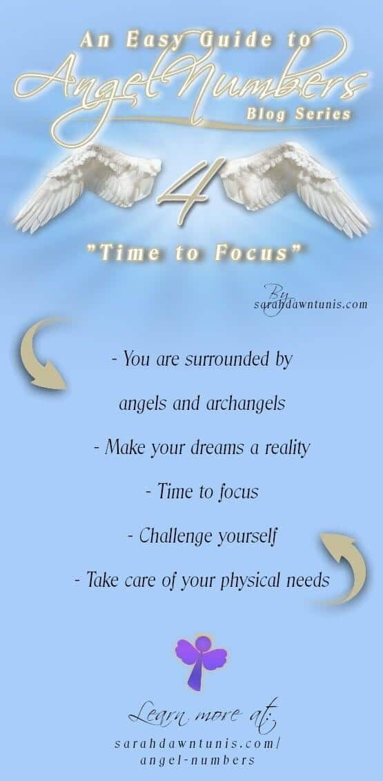 Time To Focus - ANGEL NUMBER 4, 44, 444, 4444 - Easy Guide