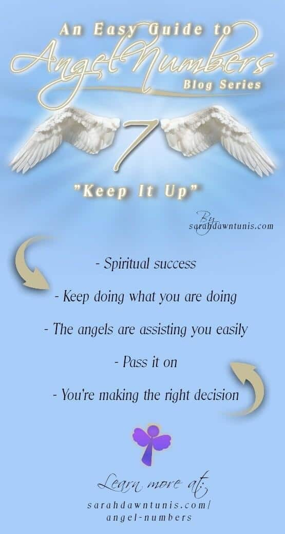 Keep It Up - ANGEL NUMBER 7, 77, 777, 7777 - Easy Guide to