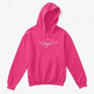 I believe in angels hoodie created by Sarahdawn available in the Angel Merch Store